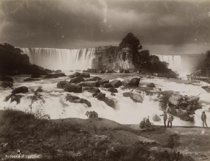 (7) Salto del Laja (ca.1900) ©Fotografía Leblanc