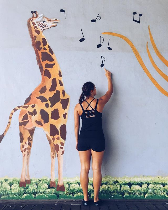 A world without music would giraffe me crazy.