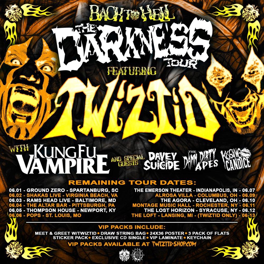 Back To Hell The Darkness Tour Continues To A City Near You