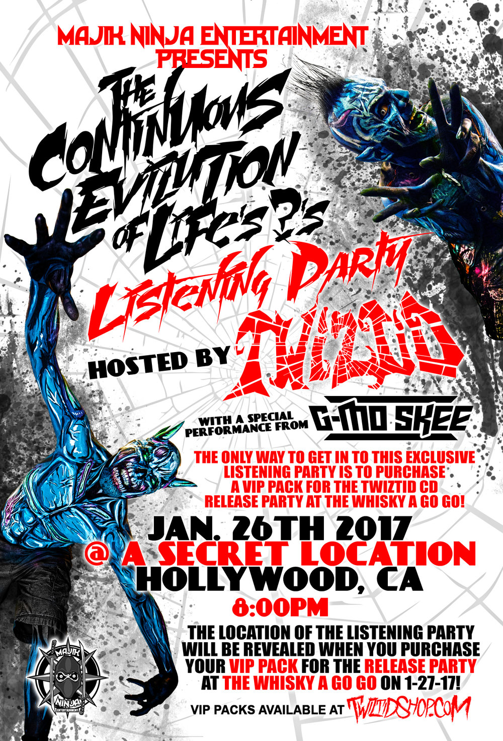 the continues evolution of life s s private party hosted by