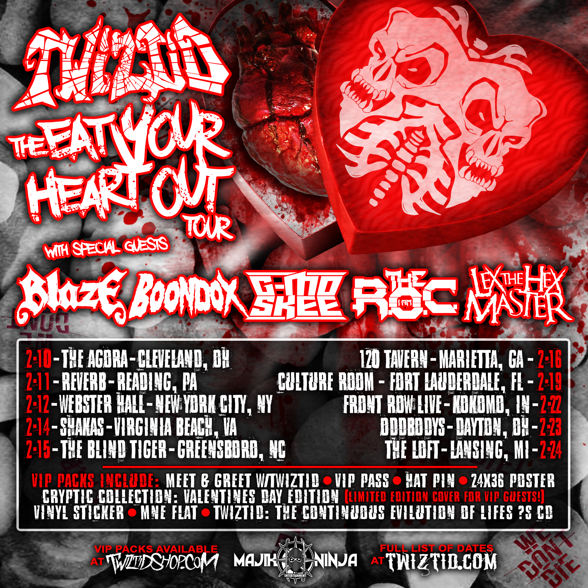 Twiztid tour dates in Brisbane