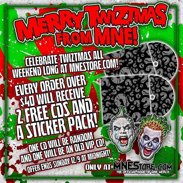 More giveaways at @twiztidshop this weekend!!! Click the link in our bio to take advantage of these deals while it's still the weekend 👆👆👆