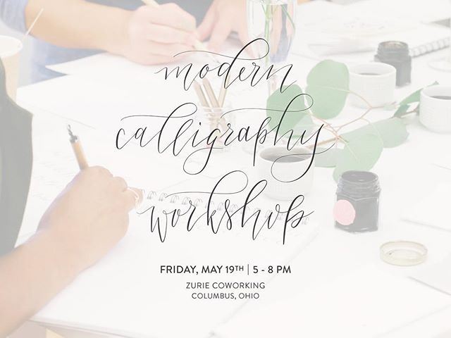 New workshops are listed on the website! May & June dates available. See you there 💗#asseenincolumbus #moderncalligraphy #inkwellandco #columbusworkshops #calligraphyworkshops #calligraphy #handlettering #customstationery #weddinginspo #columbusbride #614bride #columbuswedding #weddinginvitations #weddingwednesday #makewavesmonday #luxuryinvitations #stationery #weddingplanning #partycbus #columbus #inkwellworkshops #writeitdown #cbus #shortnorth #calligraphyworkshop #moderncalligraphyworkshop