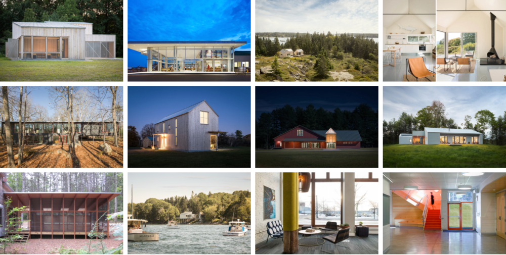 Maine's Best Architecture -