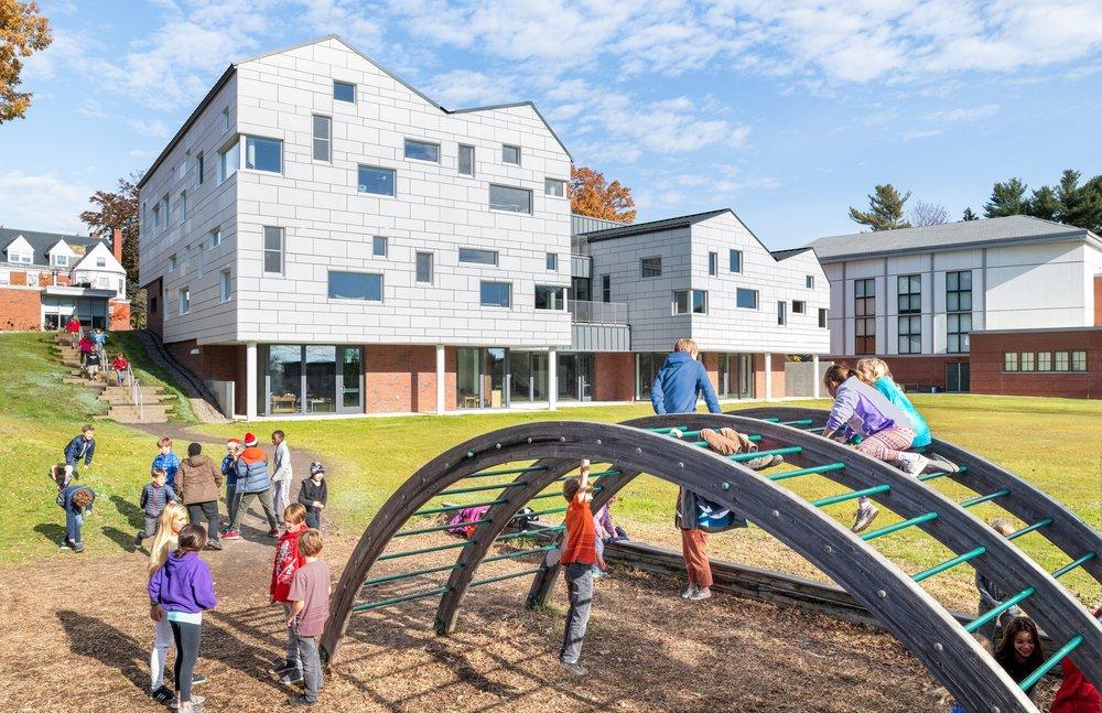 HONOR AWARD / INSTITUTIONAL & COMMERCIAL    Waynflete Lower School, Portland    SCOTT SIMONS ARCHITECTS   PHOTOGRAPHED BY RYAN BENT