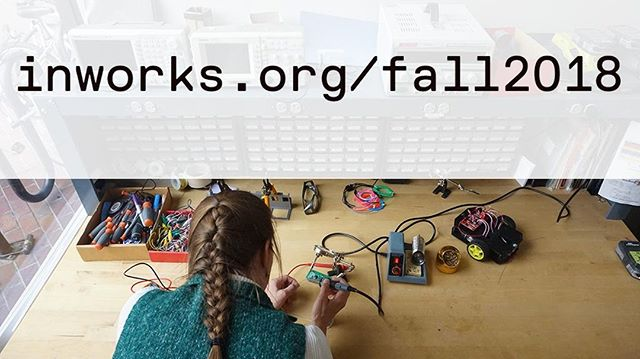 Want to know more about our fall courses? Check out our site for more info on times and class descriptions! inworks.org/fall2018