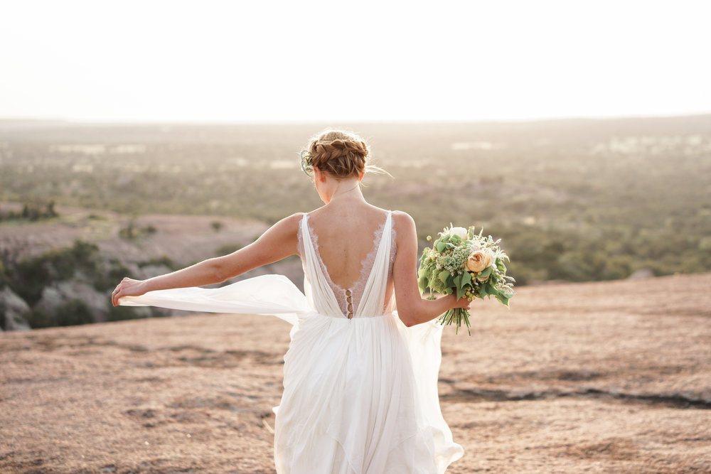 Fine Art Austin Wedding Photographer. Enchanted Rock Wedding.