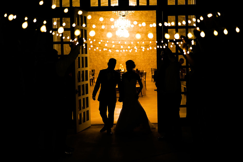 The Ivory Oak Wedding Venue in Wimberley, TX. Austin fine art wedding photographer. Ivory Oak Wedding Photos. Ivory Oak wedding photographer. Twinkle light send off!