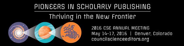 Council of Science Editors, May 17, Grand Hyatt Denver