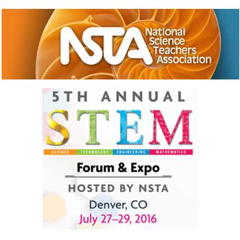 NSTA STEM, July 27 - 29, Denver
