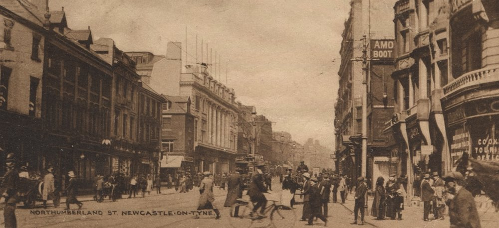 Northumberland Street, Newcastle upon Tyne. (From  Newcastle City Library Photographic Collection )