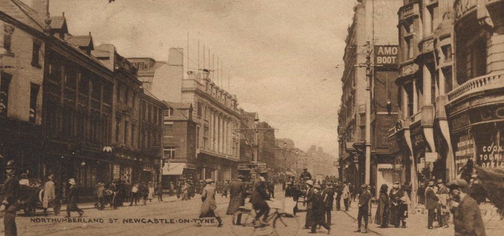 Northumberland Street, 1915 from  Newcastle Libraries Collection