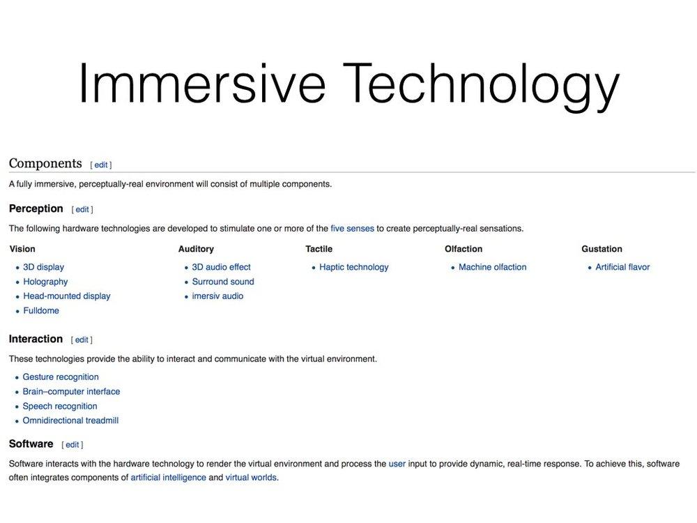 https://en.wikipedia.org/wiki/Immersive_technology