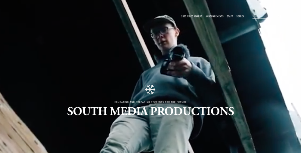 SAHS Media - Developing a place to showcase the talented creators of South Anchoage High School