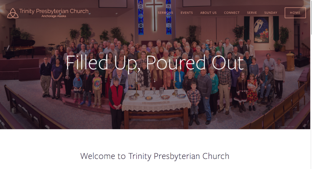 Trinity Presbyterian - Creating a welcoming place to share congregational news and information