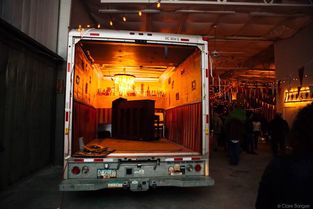 Piano Lounge Truck