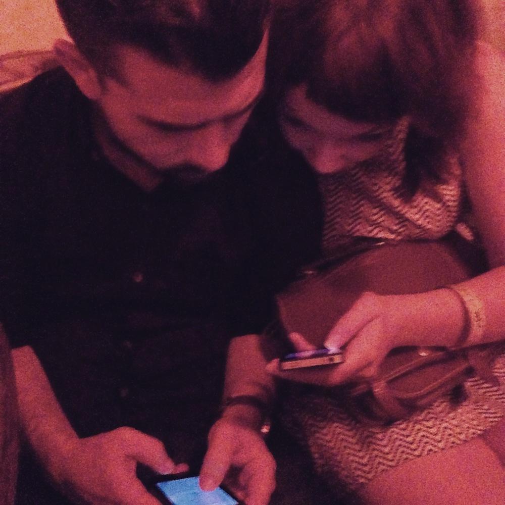 Jono & Emma Social Networking pre-Quail-State-Launch