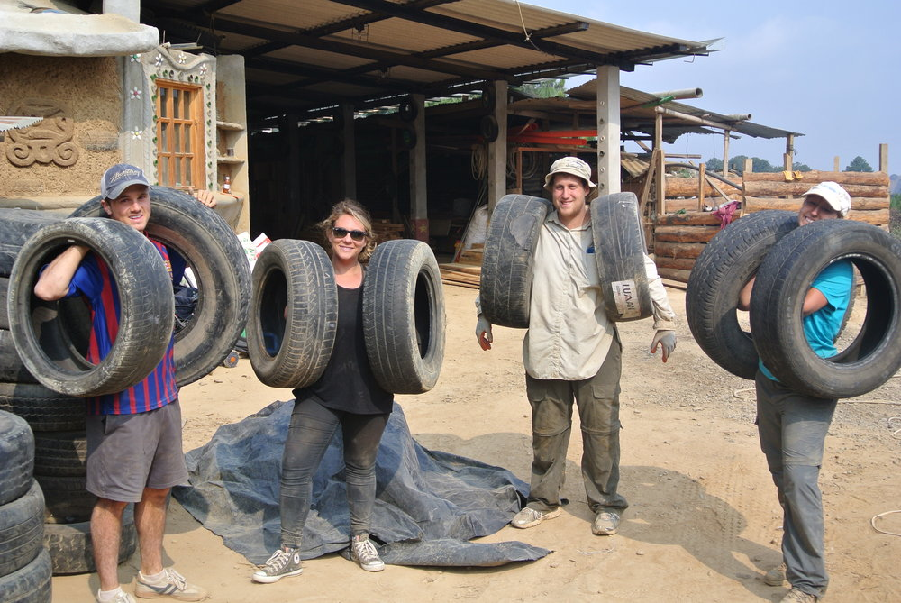 UCSC COLLECTING TIRES