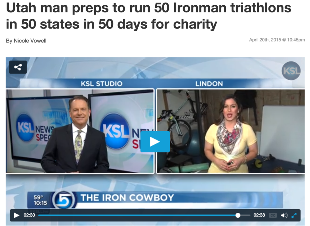 Featured on KSL News April 20, 2015