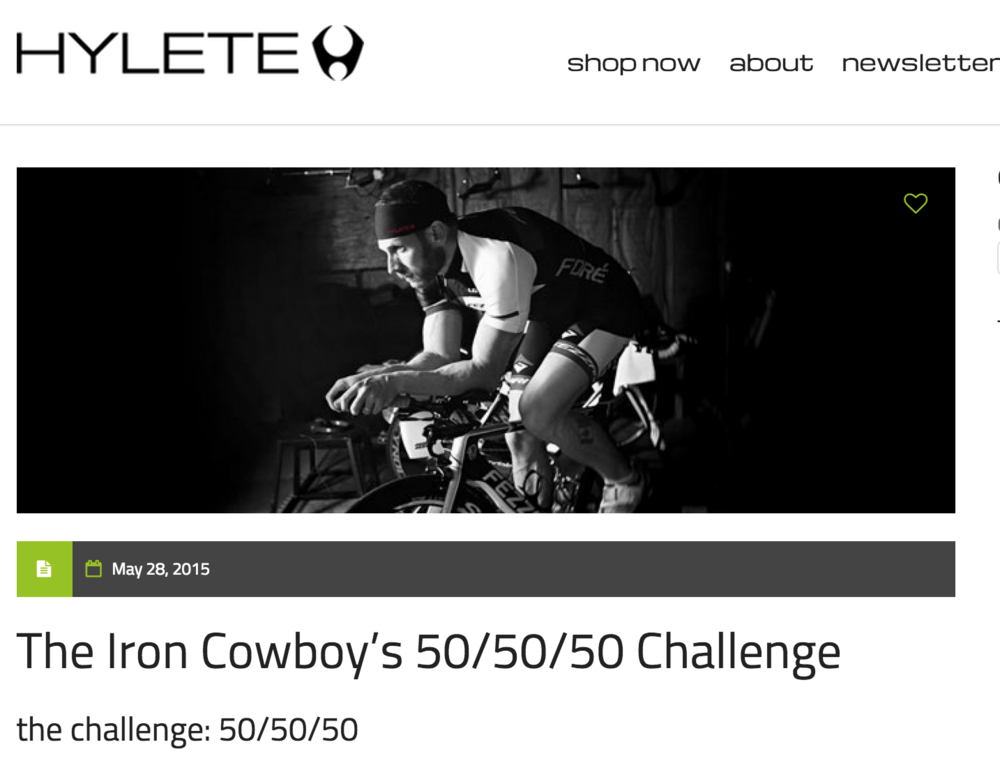 Featured on Hylete blog May 28, 2015