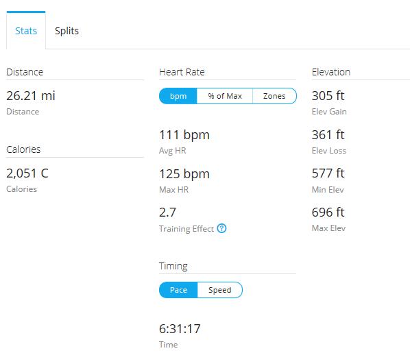 Day 18 Run