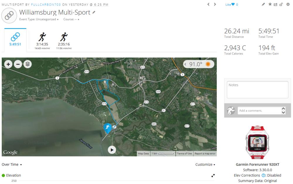 Day 25 Run