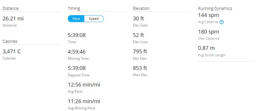 Day 26 Run