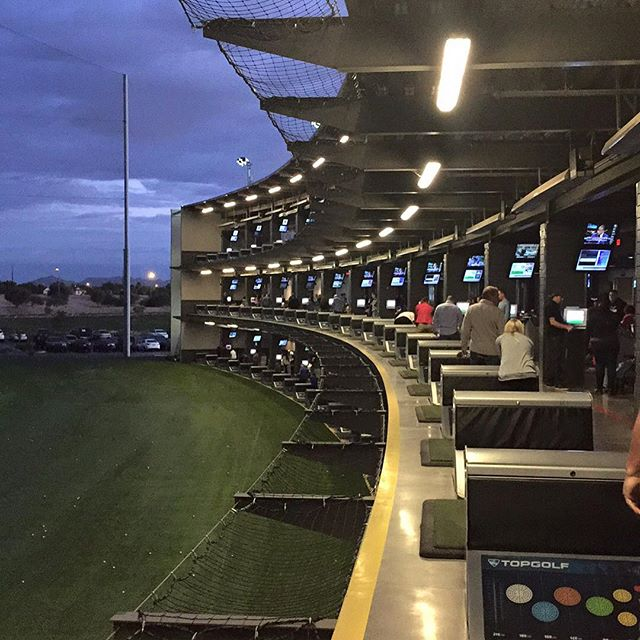 Playing some night golf at #topshots This place is legit and a lot of fun!