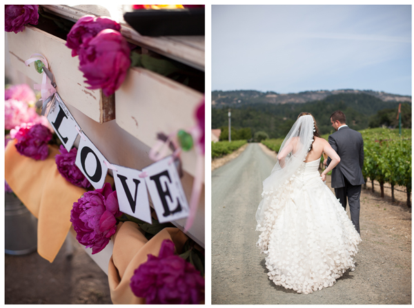 Napa Valley Vineyard Wedding 9