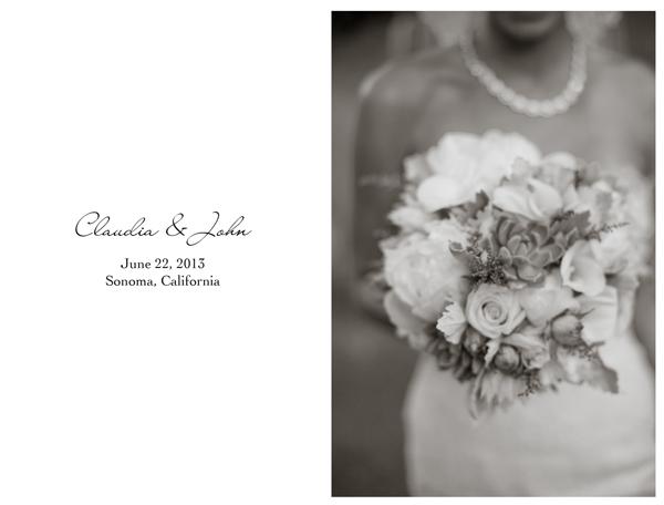 Sonoma Wedding 1