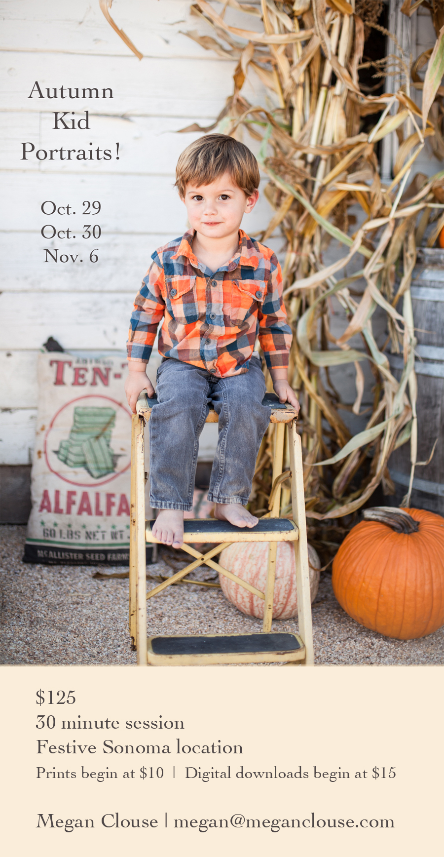 sonoma fall portraits