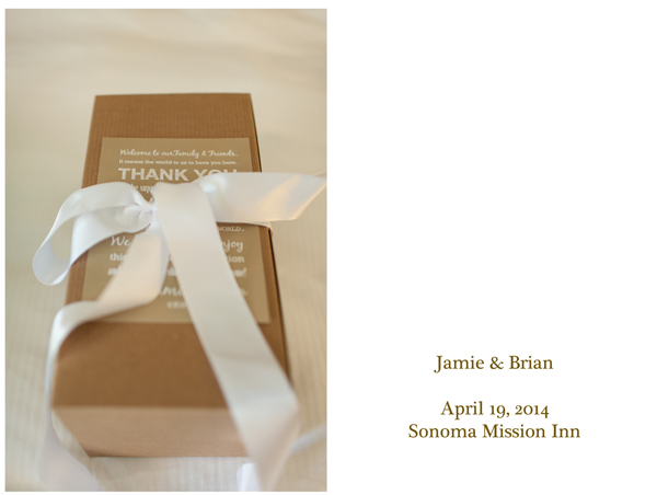 Sonoma Mission Inn Intimate Wedding 1