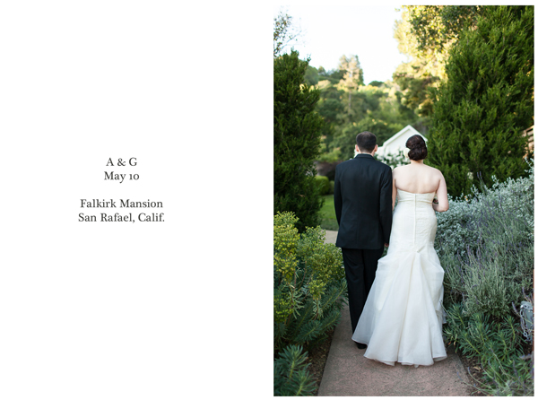 Falkirk San Rafael Wedding 1