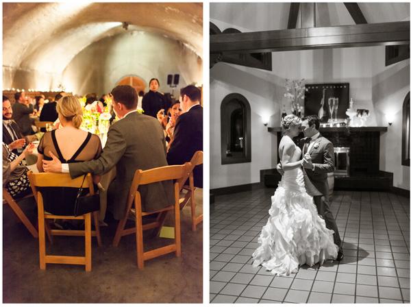 Gloria Ferrer Winery Cave Wedding 9