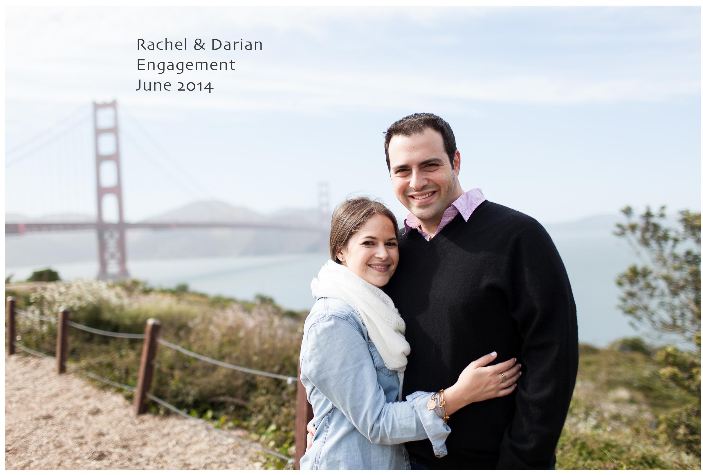 Golden Gate Bridge Engagement 1