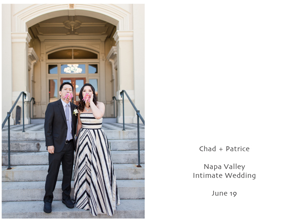 Napa Valley Intimate Wedding 1