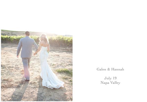 Napa Valley Vineyard Wedding 1
