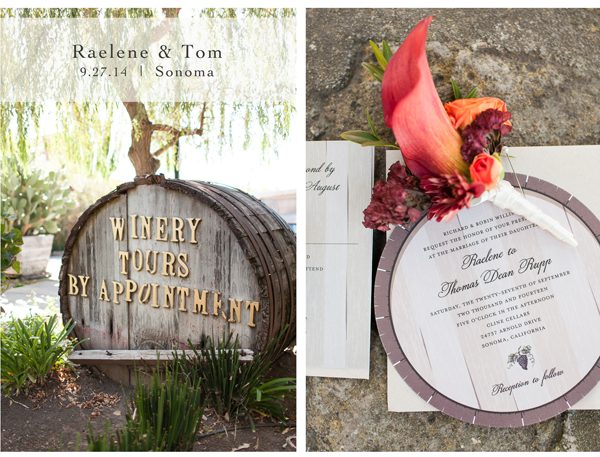 Sonoma Winery Wedding 1