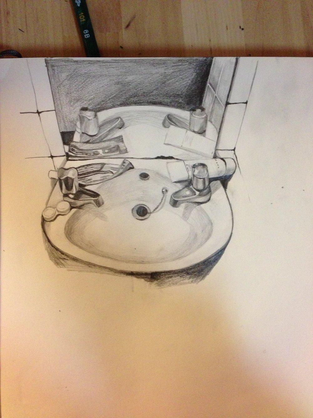 Drawing by ZHOU JIANING