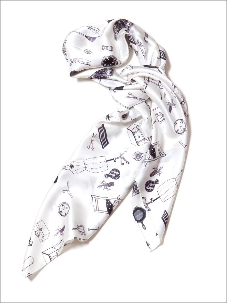 home silk scarf de islas One Story House with Wrap around Porch home silk scarf