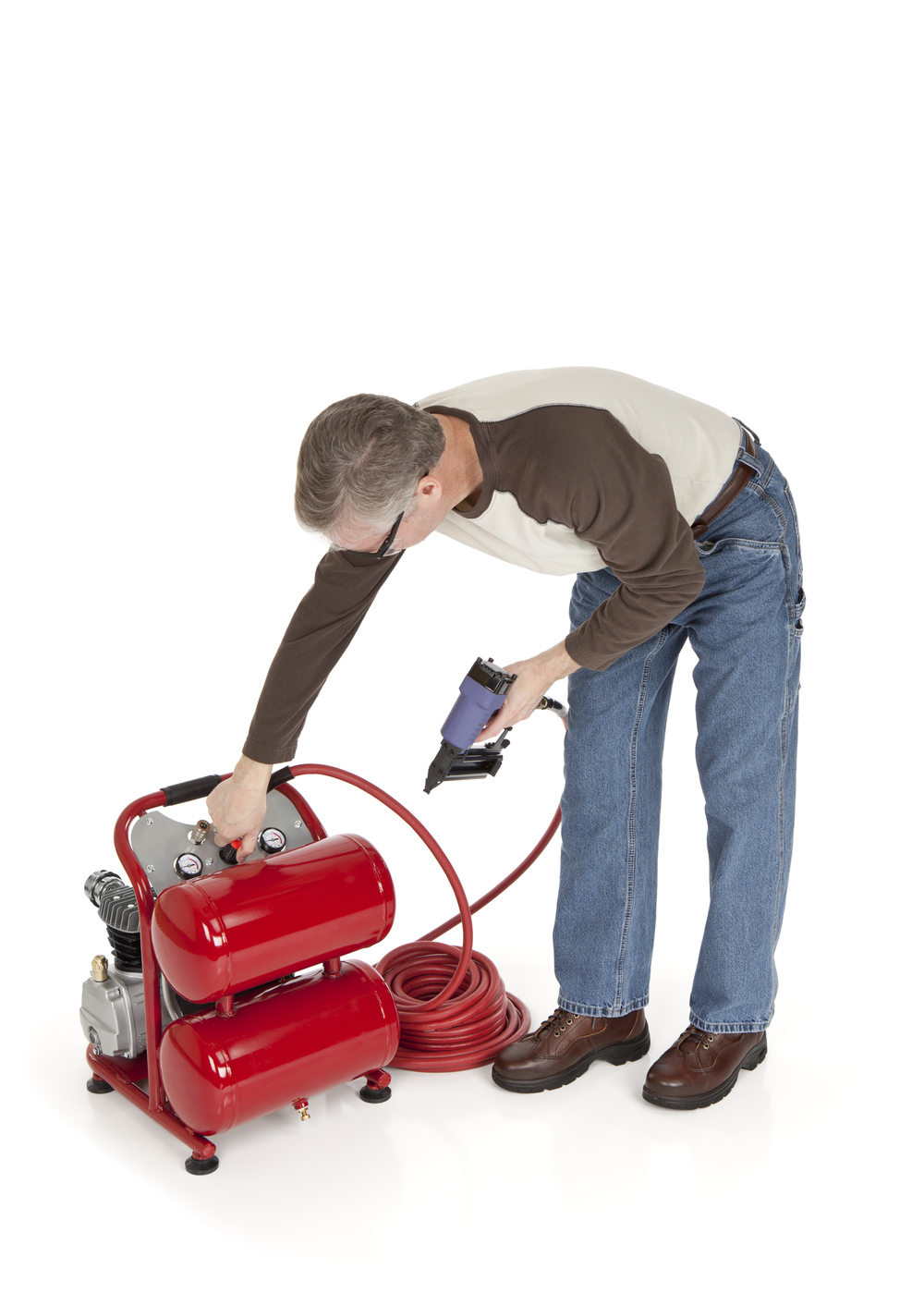 Air compressor, air tool