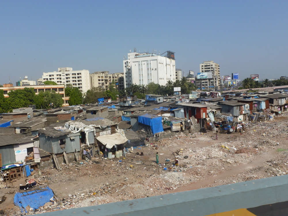 The slums in Mumbai are unbelievably desperate!