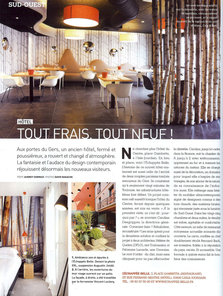 ART & DECORATION - OCTOBRE 2011