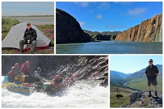 Ron will speak about his experiences in the land and the country, including rafting through Yukon in the summer (photo: Ron James)
