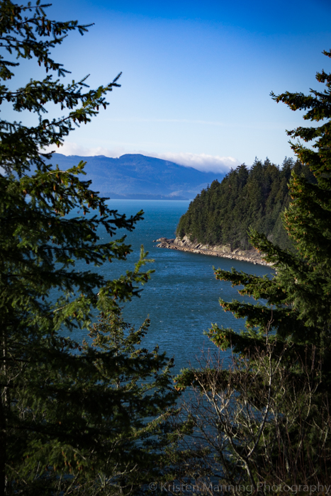 A little drive up the coast and a nice view of the San Juan Islands!  Chuckanut Drive!