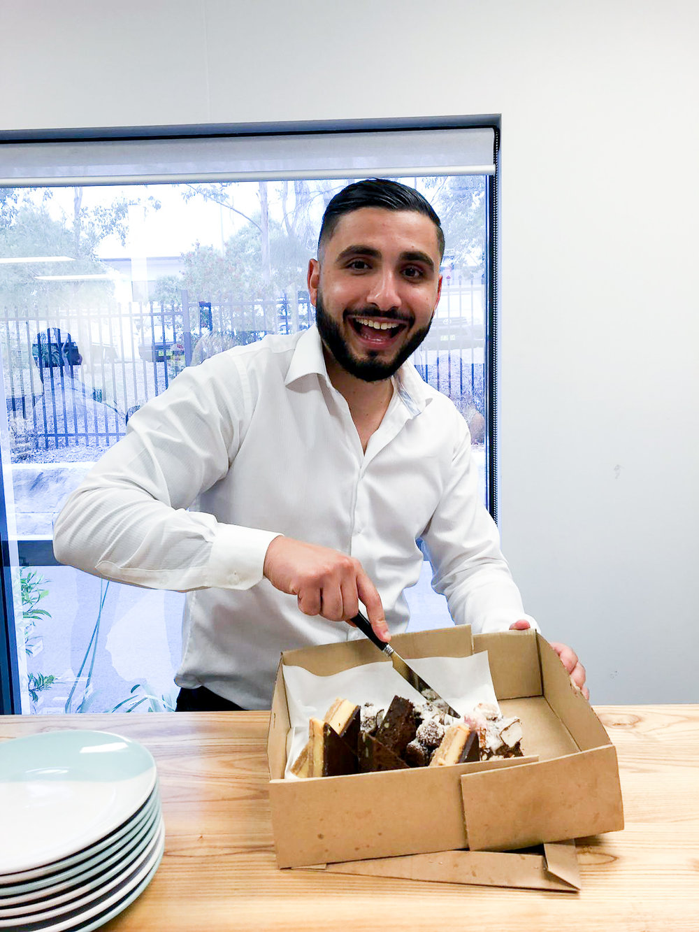 Well done  Nabil Boumoughdab  on your first of many achievements in the business!