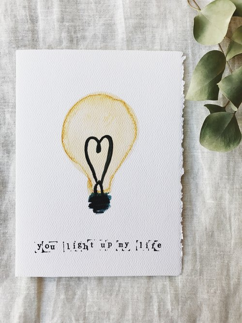Light up greeting card patricia fk design illustration light up greeting card m4hsunfo