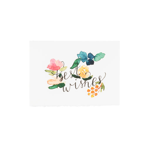 Best wishes greeting card patricia fk design illustration best wishes greeting card m4hsunfo