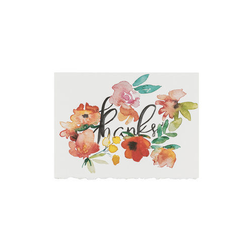 Thank you greeting card patricia fk design illustration thank you greeting card m4hsunfo