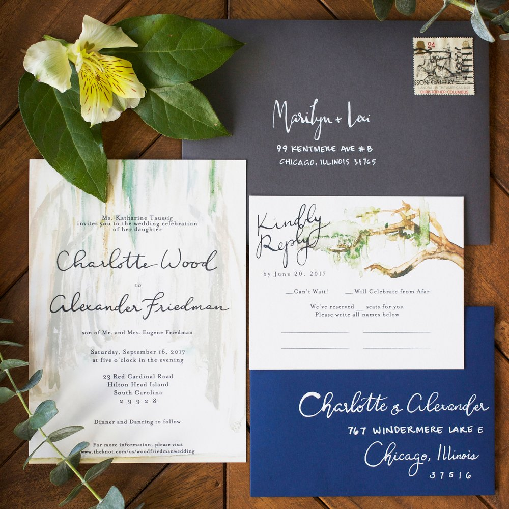 custom invitations - Set the right tone for your big day!